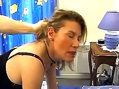 Mature gets fucked hard