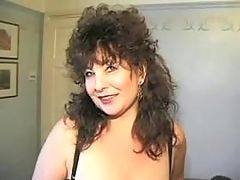 Breasty mature slut sucks